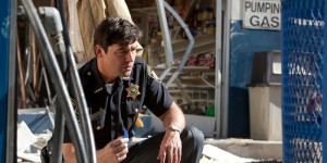 Kyle Chandler plays Jackson Lamb in SUPER 8, from Paramount Pictures.