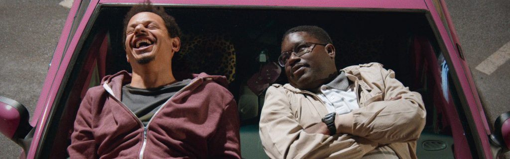 """BAD TRIP:(L to R) Eric Andre as """"Chris"""" & Lil Rel Howery as """"Bud""""."""